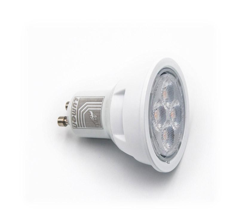 LED ΛΑΜΠΑ GU10 10W 230V 38° ΘΕΡΜΟ 3000Κ 13-1021000