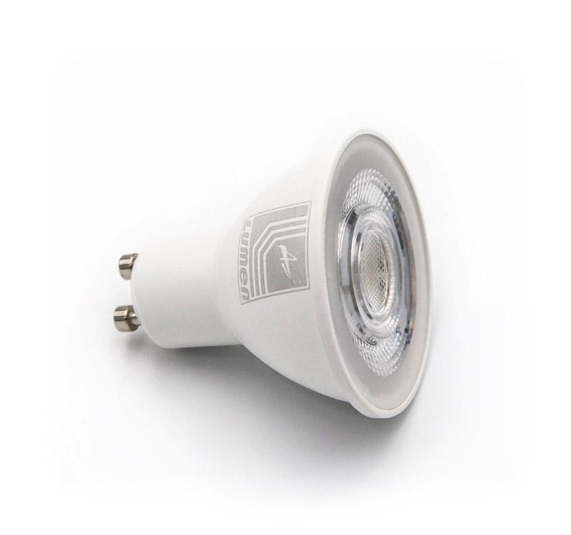 LED ΛΑΜΠΑ GU10 7W 230V 38° ΨΥΧΡΟ 6200Κ 13-10270