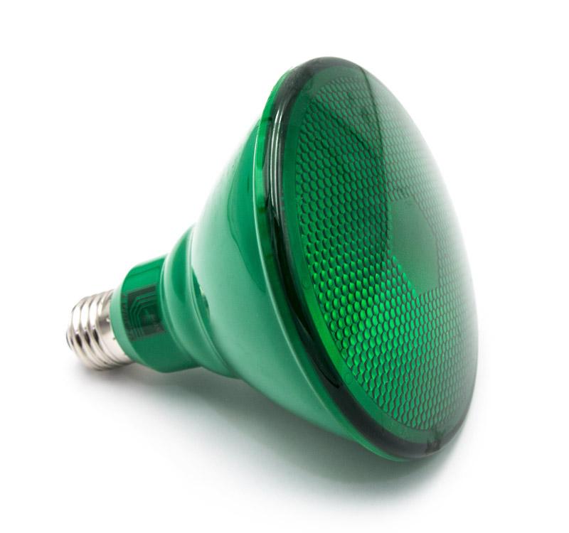 LED ΛΑΜΠΑ PAR38 E27 6W 230V 38° ΠΡΑΣΙΝΟ 13-38065