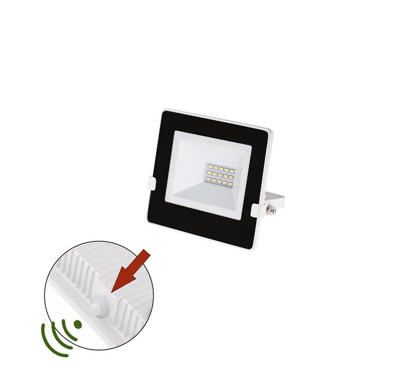 ΠΡΟΒΟΛΕΑΣ LED-SMD 10W ΦΩΤΟΚΥΤΤΑΡΟ 4000Κ IP65 ΛΕΥΚΟΣ 3-030101