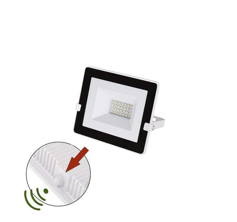 ΠΡΟΒΟΛΕΑΣ LED-SMD 20W ΦΩΤΟΚΥΤΤΑΡΟ 4000Κ IP65 ΛΕΥΚΟΣ 3-030201